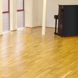 Actiflex resistant wood flooring for community centres