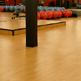Omnisports 8.3 resistant synthetic flooring for community centres